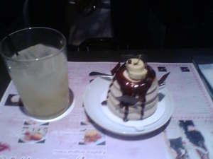 Keikoチョコバナナケーキ