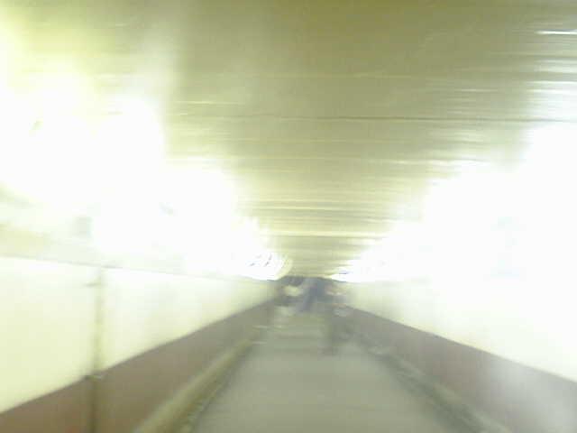 新宿北側地下道
