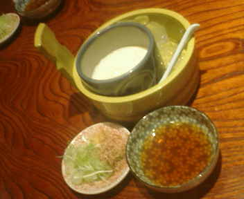 飲◆桶寄せ豆腐