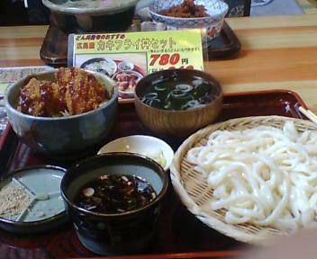 広島産カキフライ丼セット